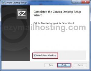 lanuch-zimbra-desktop