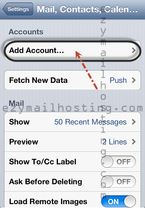iphone-mail-setting-for-zimbra-add-account